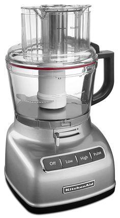 kitchenaid 7 cup exactslice food processor w extra bowl pinterest rh pinterest com au