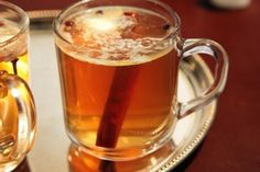 Pumpkin Hot Buttered Rum from Emeril's Delmonico!