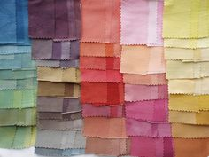 How to mordant cotton. Cotton Fabrics dyed using Natural Dye Extracts
