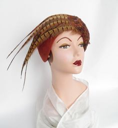 vintage Jack McConnell Boutique hat NOS by TheVintageHatShop, $85.00