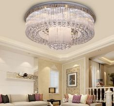 Bathroom Faucets, Kitchen Faucets, Crystal Chandelier Lighting, Led, Ceiling Lights, Lighting Ideas, Lightning, Beautiful, Living Room