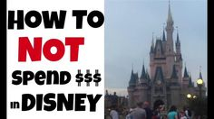 Stop spending so much when at Disney! We've been to Disney World many times and grew tired of spending so much money after we entered the parks. In this video I share two ways we spend less at Disney!