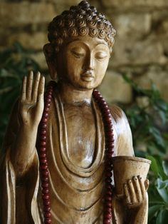 """If you really want to escape the things that harass you, what you're needing is not to be in a different place but to be a different person.""    ~  Seneca  * The Blessing-Buddha Statue"