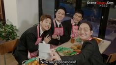 I cannot not think about them whenever I eat deokbokki. I mean they're the best male trio I ever seen in K-Drama! #OhMyVenus