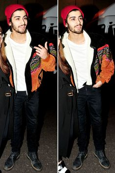 Zayn Malik<<< louis used that jacket at the sound check for the today show!