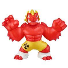 HEROES of GOO JIT ZU WOLFPAIN Super Crunchy Hero Pack GOO Power Crunch Attack