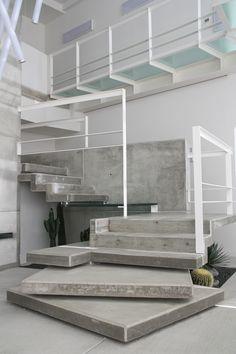cubi di cemento per realizzazione di scala