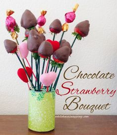 DIY Chocolate Strawberry & Truffle Bouquet  oh yum. perfect for a romantic evening after using the #SoleilGlow! #gotitfree cuz #imabzzagent