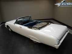For sale in our St. Louis, Missouri showroom is a White 1962 Ford Galaxie 500 Convertible 352 CID V8 Cruise-O-Matic 3 Speed . Click for more details.