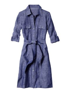 16af3a310 The best shirtdress if you re plus-size Belted Shirt Dress