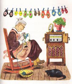 Those were the Days Knitting Quotes, Knitting Humor, Crochet Humor, Knit Crochet, Knit Art, Yarn Bombing, Vintage Knitting, Illustrations, Cute Illustration