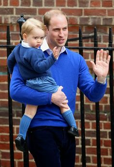 Royal Family Around the World: The Duke And Duchess Of Cambridge Welcome A Daughter at the Lindo Wing at St. Mary's Hospital on May 02, 2015 in London, England.