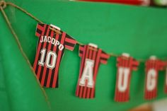 [Inspiration] Soccer/Football Birthday Party - Spaceships and Laser Beams