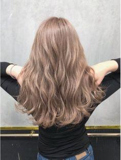 Hair Dye Colors, Ombre Hair Color, Brown Hair Colors, Blonde Hair Looks, Ash Blonde Hair, Korean Hair Color, Pretty Hair Color, Aesthetic Hair, Light Brown Hair