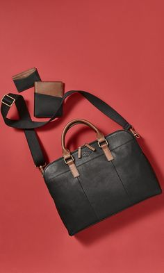 """Modern men""""s bags and accessories from Fossil #sp"""