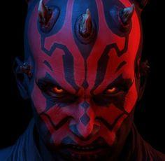 Don't piss off Maul! Dark Maul, Star Wars Sith, Clone Wars, Mr Sinister, Star Wars Icons, Star Wars Images, Star Wars Wallpaper, Dark Lord, Comic Movies