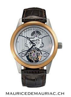 Swiss made watch from #mauricedemauriac. visit our website for more details:  http://mauricedemauriac.ch/