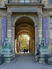 France, Le Louvre - Porte des Lions - a less congested entrance to the museum, closed on Fridays and closes at on Wednesdays. Architecture Parisienne, Paris Architecture, Francia Paris, Paris France, Paris Paris, Louvre Paris, Paris Images, I Love Paris, Grand Palais