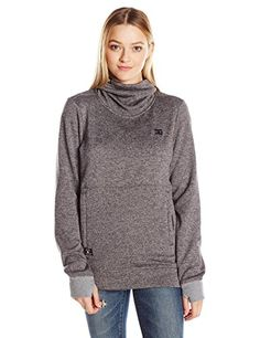 DC Womens Veneer Pullover Fleece Heather Pewter S >>> Amazon most trusted e-retailer #PulloverSweaters Hoodies, Sweatshirts, Pewter, Pullover Sweaters, Fashion Brands, Topshop, Amazon, Outfit, Stuff To Buy