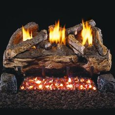 22 best gas log fireplaces images gas fireplace logs ventless gas rh pinterest com