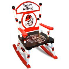 University of Georgia Rocking Chair from PoshTots