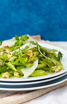 Celery Salad - OMG SOOO DELICIOUS. IM making this for Joe and DB!