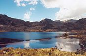 The Parque Nacional Cajas (Cajas National Park) is a national park in the highlands of Ecuador. It is located about 30 km west from Cuenca. Best Places To Retire, The Places Youll Go, Places To Visit, Quito, List Of National Parks, Backpacking Peru, Wallpapers Wallpapers, Areas Protegidas, Peru Beaches
