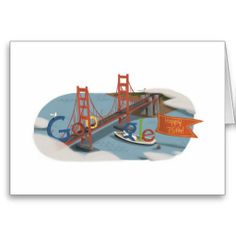 75th Anniversary of the Golden Gate Bridge Greeting Card