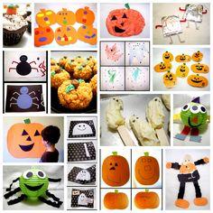 Little Family Fun: Halloween 2011 Re-cap   REALLY cute craft ideas