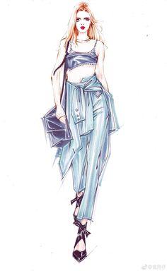 Fashion Design Sketchbook, Fashion Design Drawings, Fashion Sketches, Fashion Drawing Dresses, Fashion Illustration Dresses, Fashion Drawing Tutorial, Human Sketch, Illustration Mode, Illustrations