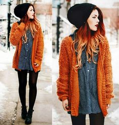 I love this cardigan, it is so unique. She styled it perfectly in my opinion.