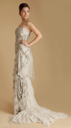 Couture Rani | Gaurav Gupta - Embroidered Tulle Lace Gown