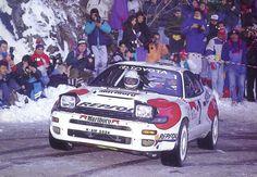 Carlos Sainz, Toyota Celica WRC, Rally Monte-Carlo