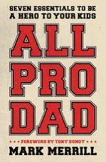#allprodadbook  All Pro Dad Book Cover