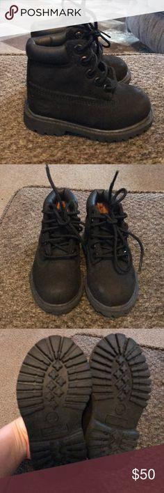 Timberland Boots Toddler size 4. Never been worn. My son was born with club feet and he couldn't stand to have these on. Timberland Shoes