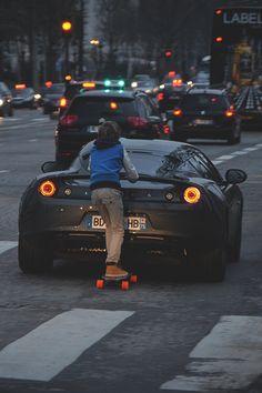 Cool transport ^^   urban life skateboard city photography