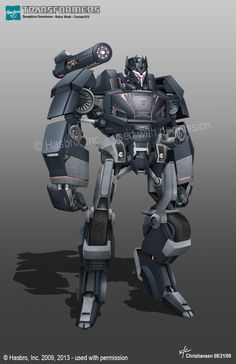 Aligned Continuity Soundwave Concept Art from Ken Christiansen