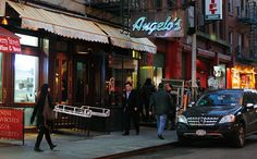 One of my favorite and must go to places....Angelo's of Mulberry Street, Little Italy, New York City