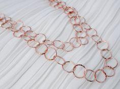 Colar Ouro Rose / Rose Gold Necklace - PAT BORGES Bijoux Online - Loja Virtual de SemiJoias