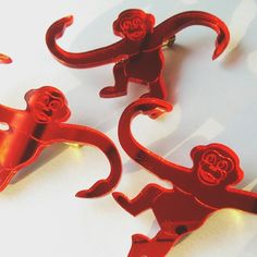 "78 Likes, 3 Comments - designosaur | karli & jacques (@designosauryeah) on Instagram: ""Cheeky! #monkeys #barrelomonkeys #tumblinmonkeys #designosaur"""