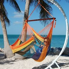 Woot, enjoy a rainbow of fun and relaxation! Made In The Shade Hammocks - Carribbean Jumbo Hammock Chair Swing (multi color), $99.95 (http://www.madeintheshadehammocks.com/carribbean-jumbo-hammock-chair-swing-multi-color/) #outdoorhanginghammockchairs #extralargehammockswings
