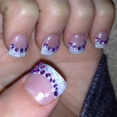 my gel nails by Shaunna Nickerson-Leblanc <3