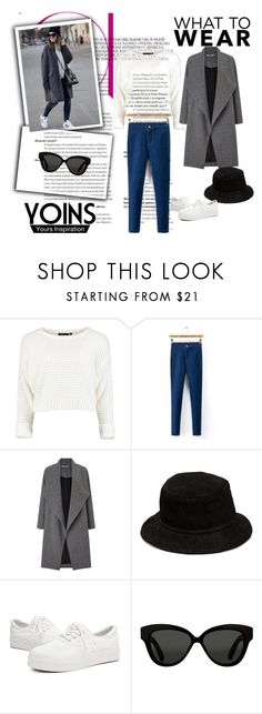 """Skinny Waist Jeans"" by belma0 ❤ liked on Polyvore featuring Miss Selfridge, Alexander Wang and Linda Farrow"