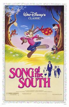 Song of the South. A wonderful Disney film! Fun, exciting and a great family film. Old Movies, Vintage Movies, Great Movies, Walt Disney, Disney Love, Disney Magic, Disney Stuff, Uncle Remus, Disney Movie Posters