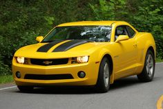 I want a yellow camaro and I want the front license plate to say bumble and the back one to say bee. :D