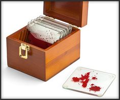 For Dexter Fans, also a great idea for a Halloween Party