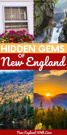 Hidden Gems in New England: 10 Secret Places to Visit - These spots in New England are off the beaten path but are totally worth visiting. When you're after some hidden gems to travel to, these destinations will fit the bill. #NewEngland #USATravel #Travel | travel in New England | USA travel destinations | things to do in New England | summer in New England New England Day Trips, New England Usa, New England Fall, New England Travel, Usa Travel, Beach Travel, Travel Europe, Spain Travel, Best Places To Travel
