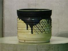 Japanese Oribe Hibachi - Edo Arts Japanese Antiques Art & Textiles
