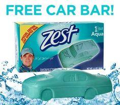 Free Zest Soap Bar    my mamaw used zest she had sofest skin