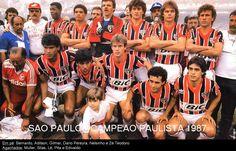 SPFC - Campeão Paulista 1987
